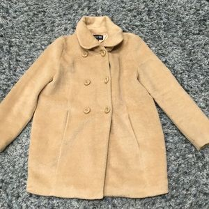 Forever 21 Tan Peacoat Style Jacket
